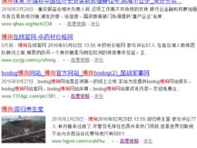 SEO黑帽:利用新闻网站垄断灰色词排名