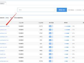 利用SEO工具挖掘同行竞争对手关键词数据快速布局网站词库
